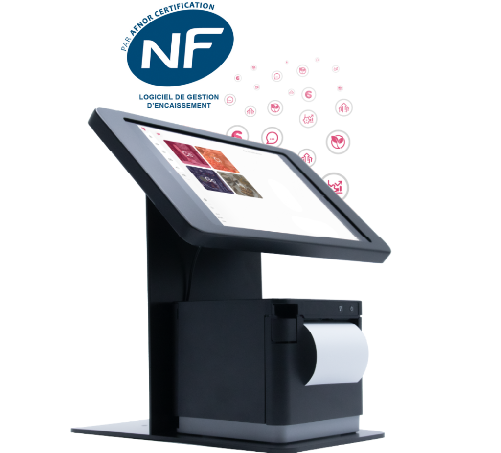 nf caisse nf525